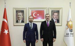 Ataşehir'in Akparti Yeni İlçe Teşkilat Başkanı Mehmet Emin Özkaya Oldu .