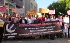Yeniden Refah Partisi tehlikeye dikkat çekti: İstanbul Sözleşmesine HAYIR dedi.
