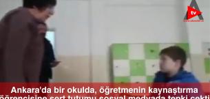 Ankara'da Bir Okulda, Öğretmenin Kaynaştırma Öğrencisine Sert Tutumu..