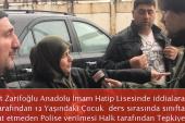 Cahit Zarifoğlu Anadolu İHL Okul Yetkililerine , Velilerden Tepki; Sizlerinde çocukları yok mu…