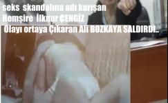 Alaşehir Devlet Hastanesinde  Seks Skandalında Adı Karışan Hemşireden Tehdit ve Saldırı.