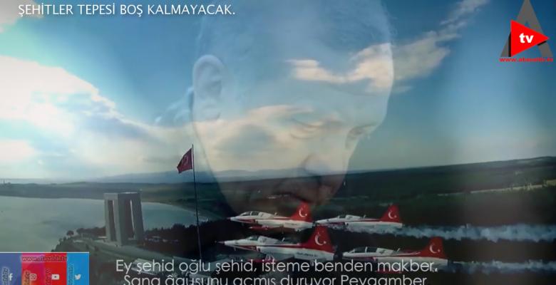 ŞEHİDLER TEPESİ BOŞ KALYACAK.