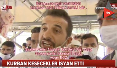SAADET PARTİSİNE SUS PAYI