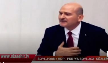 SOYLU'DAN: HDP-PKK SOYLUCA SÖZLER